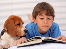 Therapy Dogs Add 'Tutoring Children' To Their Resumes