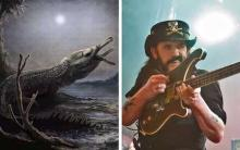 'Nastiest' Prehistoric Sea Crocodile Named For Motorhead's Lemmy