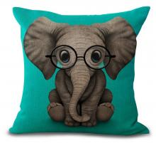 Funny Elephant Pillow