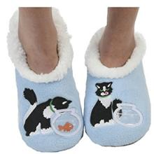Naughty Cat Slippers