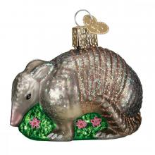 Glass Armadillo Ornament