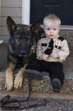 Police Dog and Partner