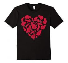 Valentine's Day Cat T-Shirt