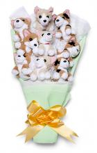 Plush Corgi Bouquet