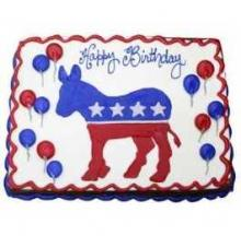Political Dessert: The Top 10 Democratic Party Donkey Cakes, Cupcakes & Cookies