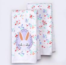 Peeking Easter Bunny Kitchen Towels