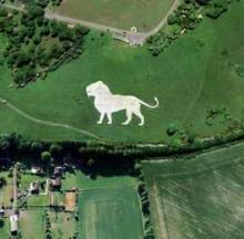 Restored Whipsnade White Lion Is All White Again