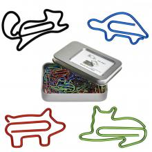 Animal Lovers' Paper Clips