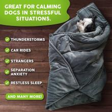 Canine Coddler Weighted Dog Anti Anxiety Blanket