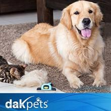 DakPets De-Shedding Tool For Cats & Dogs