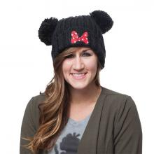 Minnie Mouse Pom Pom Beanie