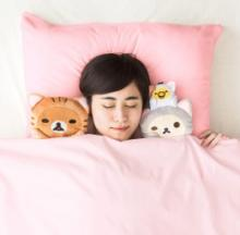 Rilakkuma Cute Doll Pillow Cover Set Sweetens Dreams