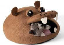 Twin Critters Hippo Cat Bed