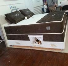 Pet Bed Inside Mattress Keeps Sleeping Pets Comfortably Close