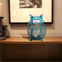Mesh Cat Coin Bank