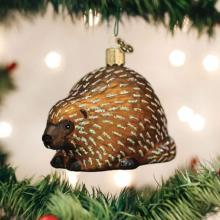 Porcupine Christmas Ornament