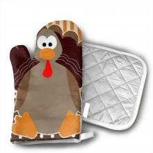Turkey Oven Mitt and Pot Holder
