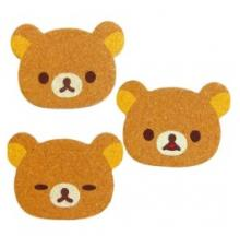 Rilakkuma Coasters Bear Drinks, Protect Coffee Tables