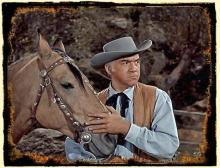 Buck and Lorne Greene