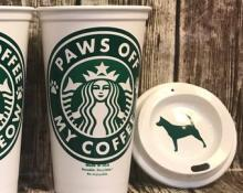Starbucks Cat & Dog-Themed Coffee Cups For Thirsty Pet Owners