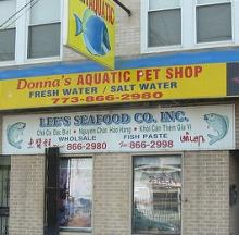 Chicago Pet Shop & Seafood Store Share And Share Alike