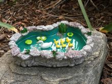 Fairy Garden Duck Pond