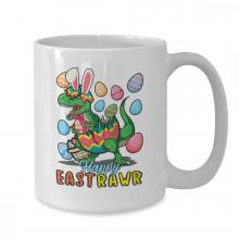 Happy Easter T-Rex Mug