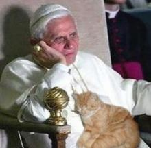 Vatican Kitties: Pope Emeritus Benedict XVI, Cat Lover