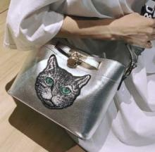 Cat Face Shoulder Bag Puts Purrs In Your Purse