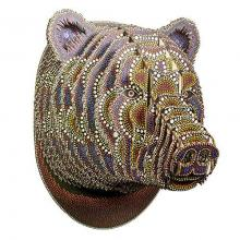 Cardboards Bear Trophy Head