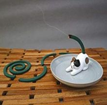 Cat Tail Mosquito Coil Stands Make Skeeters Scatter