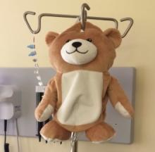 Medi Teddy Puts A Friendly Face On IV Drip Bags