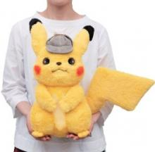 Life-Size Detective Pikachu Plushie Solves Cases Silently