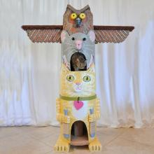 Totem Pole by Square Paws