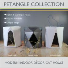 Palram Petangle Decor Cat Houses