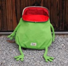 Green Frog Backpack Helps Kids Hop Back To Class