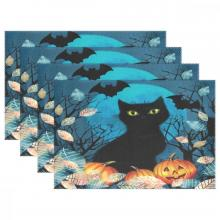 Black Cat Placemats