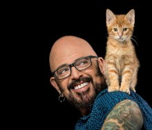 Pet Tails: Cat Daddy Soothes The Savage Feline