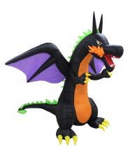Halloween Inflatable Fire Dragon