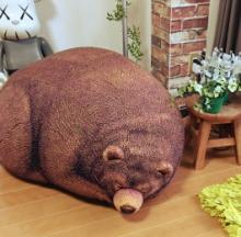 Realistic Giant Bear Cushions Add Bruin To Your Room