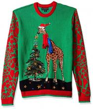 Giraffe Ugly Christmas Sweater