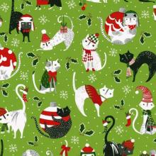 Yule Cat Gift Wrapping Paper