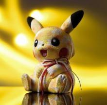 Wooden You Love A Pikachu Edo Kimekomi Figurine?