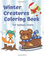 Winter Creatures Coloring Book