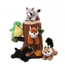 Plush Tree House for Animals