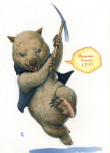 Wombats, The Super Heroes Of The Australian Bushfires