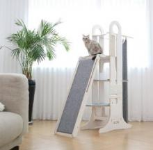 The Milo Cat Jungle Gym Is A Feline Tower Of Power