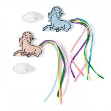Unicorn & Cloud Hair Clips