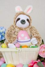 Plush Easter Sloth-Bunny