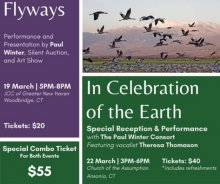 Paul Winter Soars With Flyways & Migratory Birds
